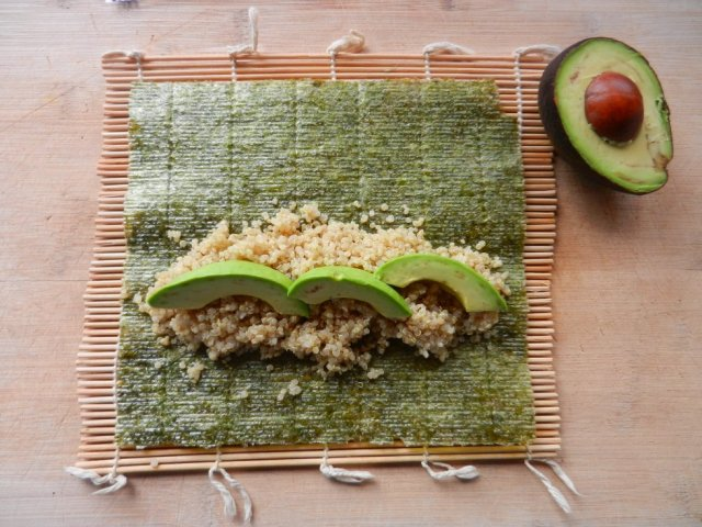 Conceive Fertility Dietitian Services. Avocado Nori Rolls are a quick and healthy lunch that supports your fertility